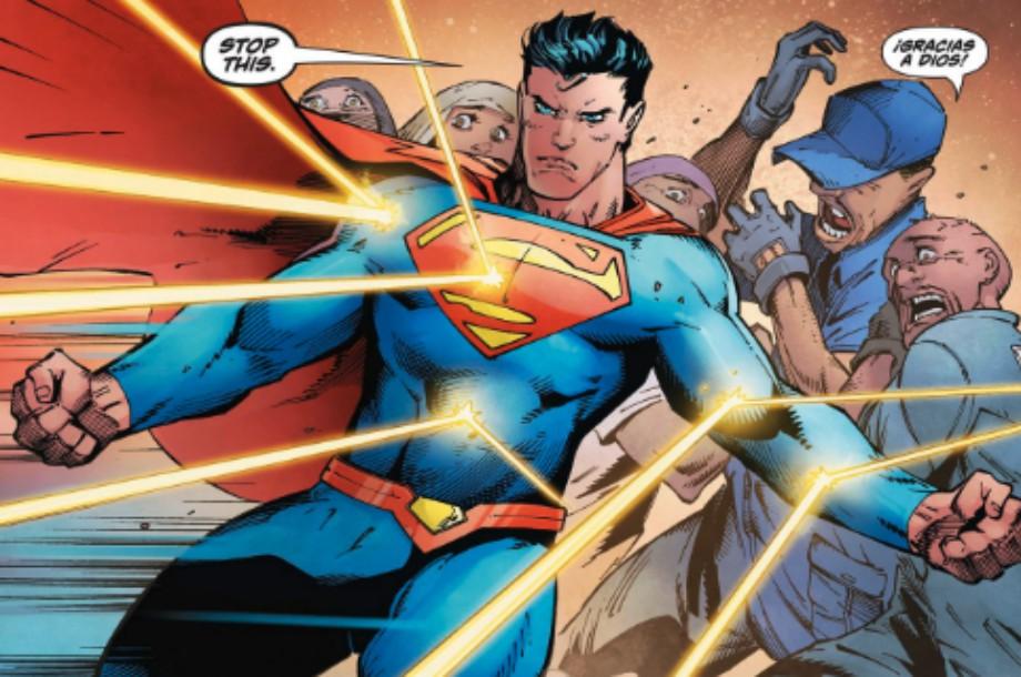 Superman defiende a indocumentados en cómic
