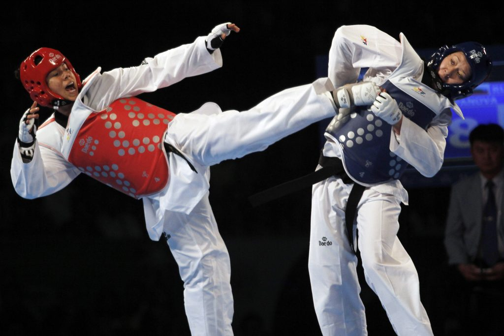 briseida acosta grand slam taekwondo