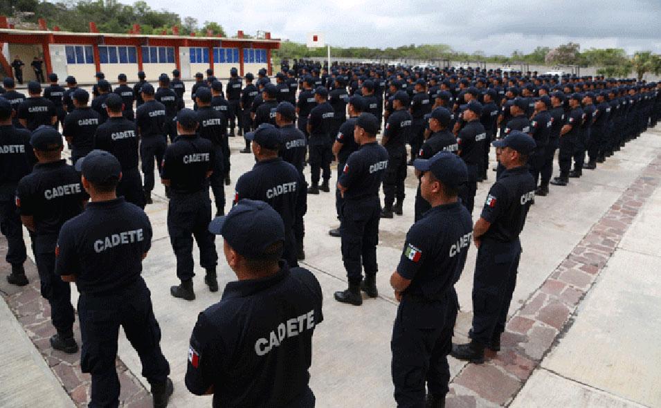 academia de policía federal en jalisco sin recursos