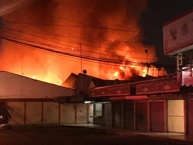 incendio mercado hidalgo