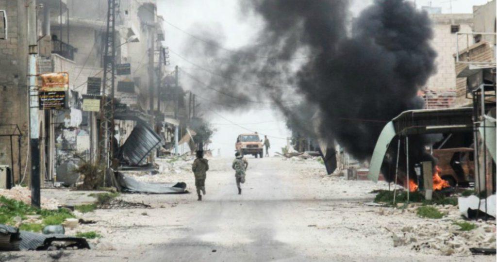 ataque en siria al menos 26 muertos