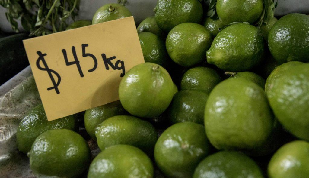 inflación baja en marzo sube precio limón