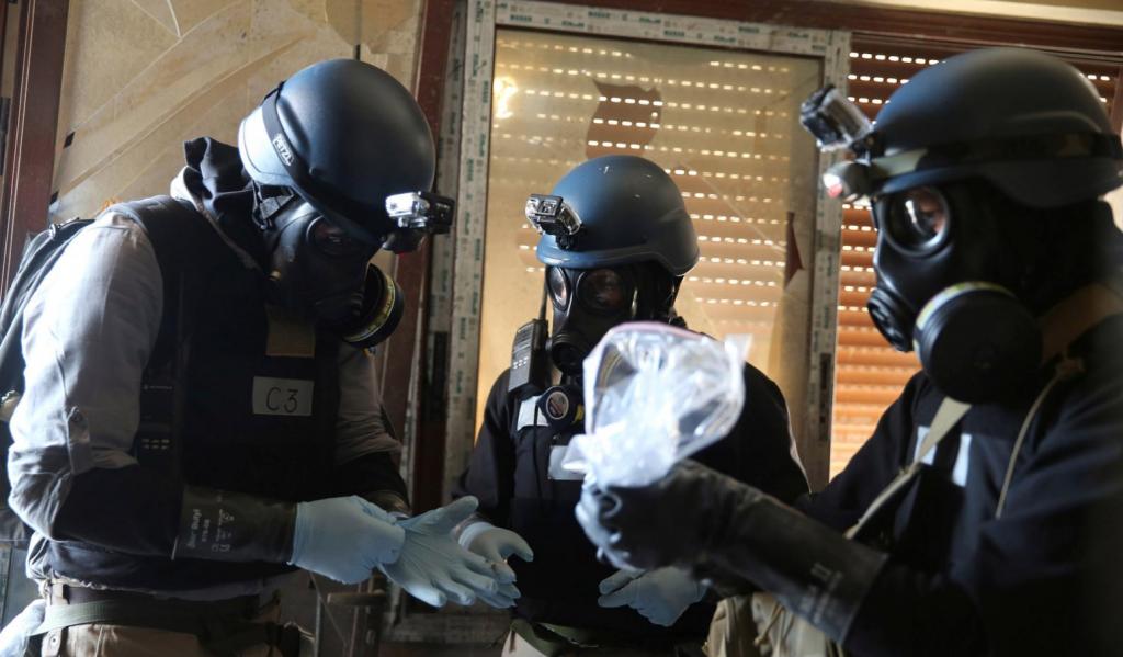 tiroteo en siria impide entra de la opac ataque químico