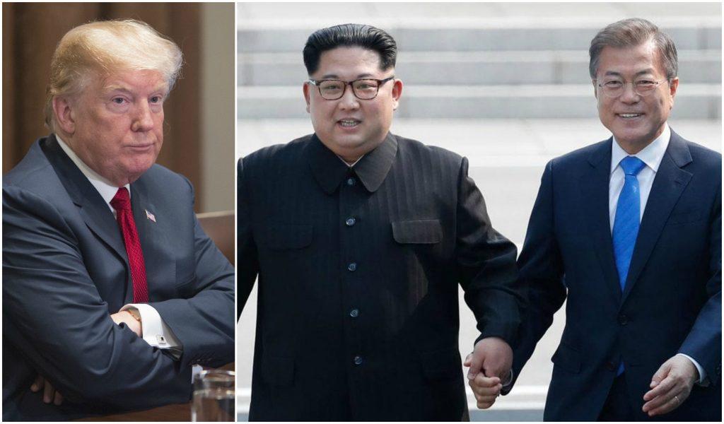 corea del sur pide a trump y kim arreglar diferencias