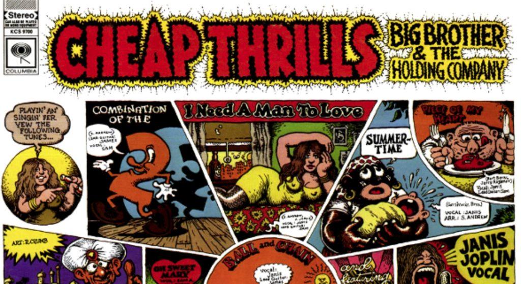 Se cumplen 50 años del Cheap Thrills, el álbum que catapultó a la fama a Janis Joplin