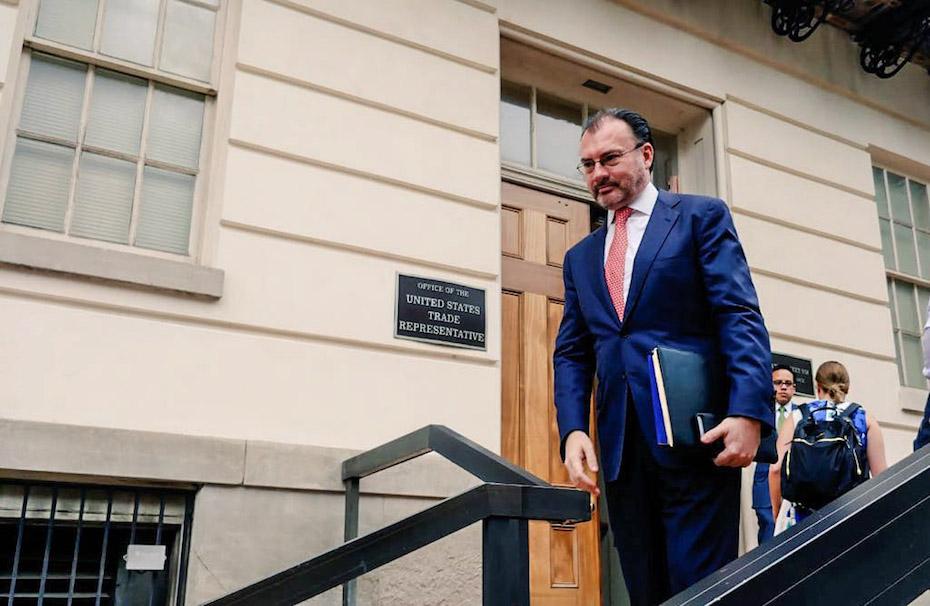 Videgaray niega haber falseado declaración patrimonial; impugnará resolución de SFP