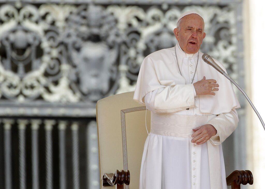 """Papa respalda uniones homparentales: """"Homosexuales tienen derecho a estar en familia"""""""