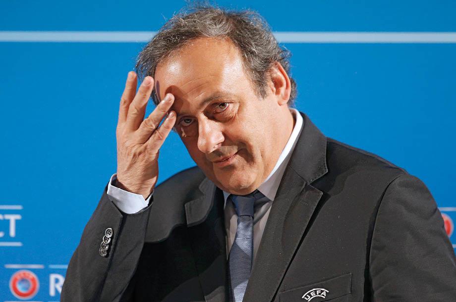 Michel Platini acusado de corrupción