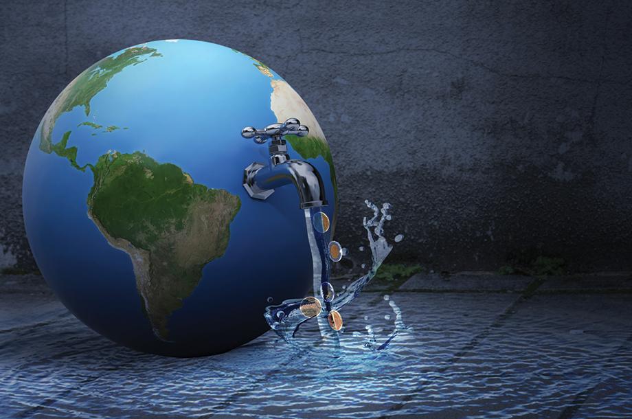 Cada vez son menos las personas que tienen acceso al agua