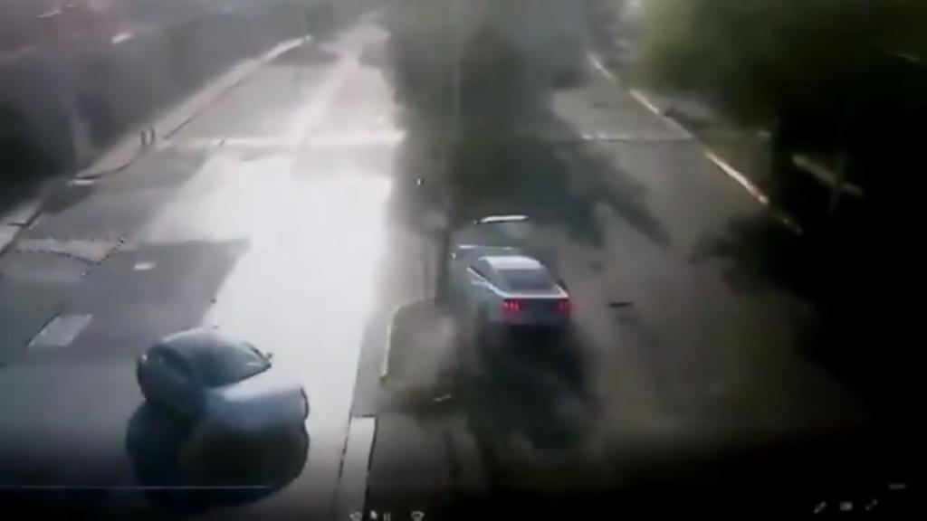 accidente joao maleck video