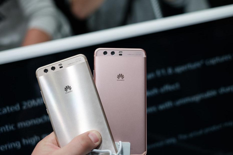 Huawei ocupó la segunda posición con el 16 por ciento de la participación en el mercado.