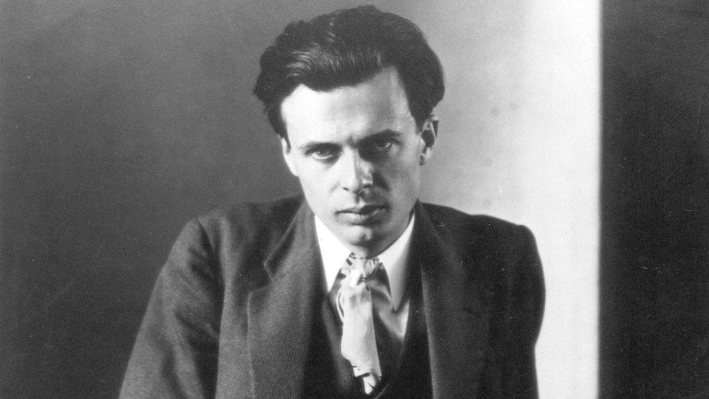 Aldous Huxley, escritor que terminó su vida con LSD