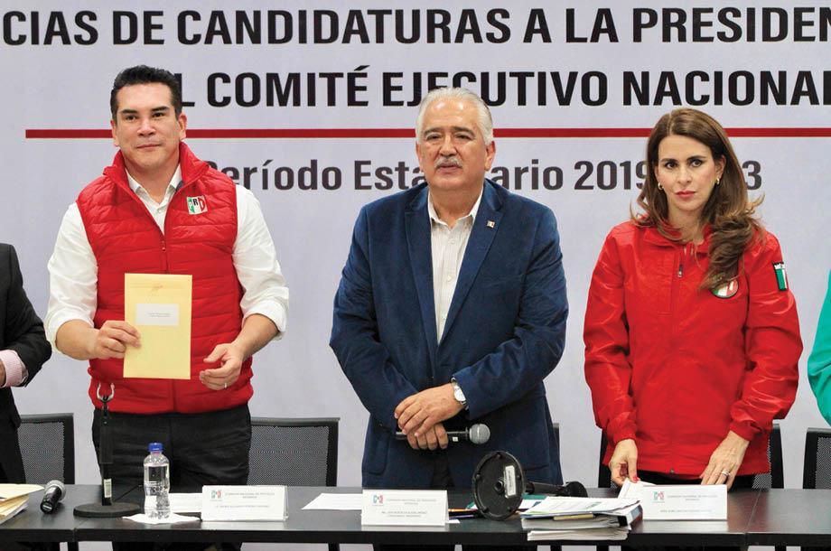 Alejandro Moreno Cárdenas señaló se terminarán las decisiones cupulares en el PRI