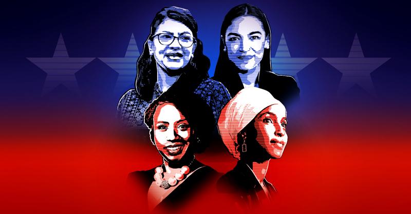 El Escuadrón, cuatro congresistas, criticadas por Donald Trump