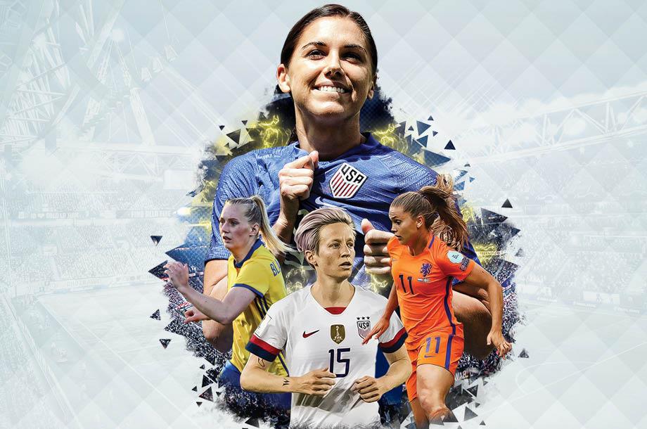 El Team USA ha impuesto un dominio muy amplio en el futbol femenil