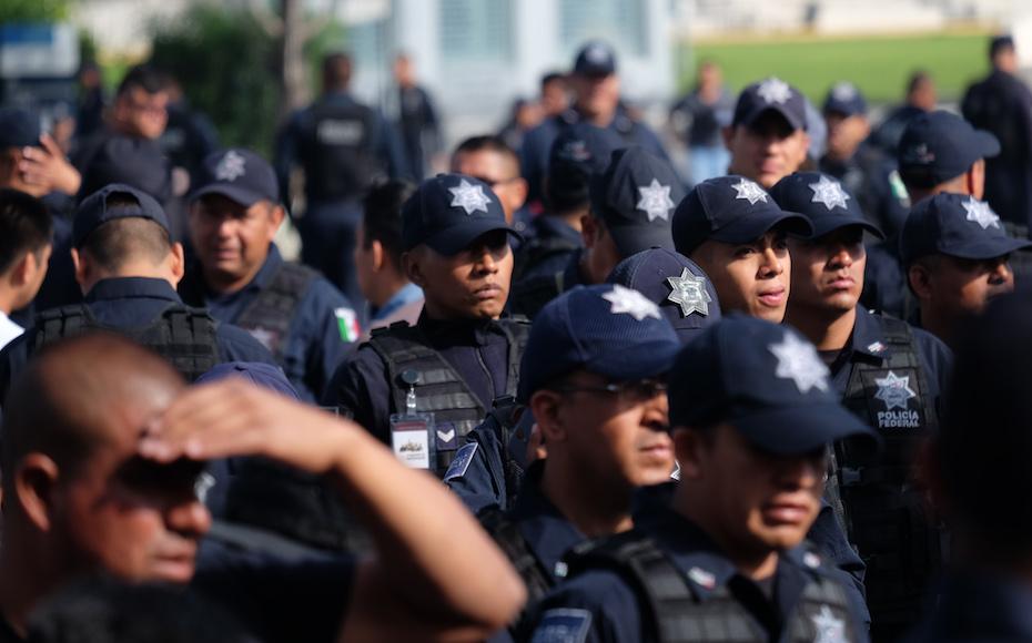 Hoy, último día de la Policía Federal