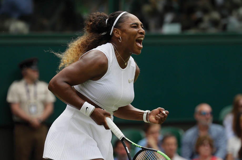 Simona Halep y Serena Williams, pasaron a semifinales en Wimbledon