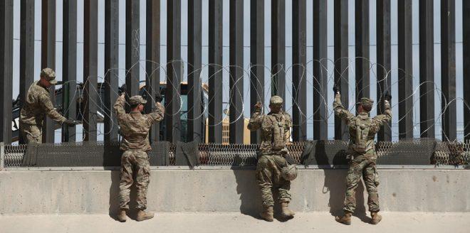 soldados estadounidenses serán trasladados a la frontera con México