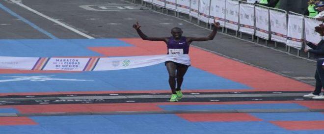 Ducan Maiyo fue el ganador de la 37 edición del Maratón de la CDMX