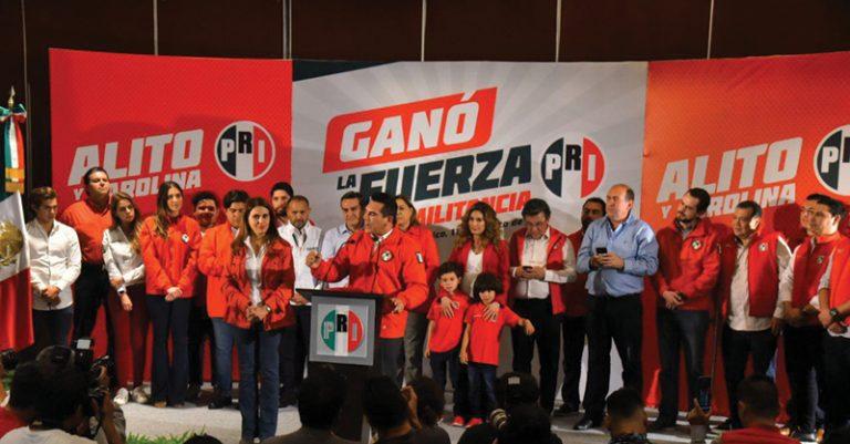 Alejandro Moreno Cárdenas Alito se perfila como el nuevo presidente del PRI