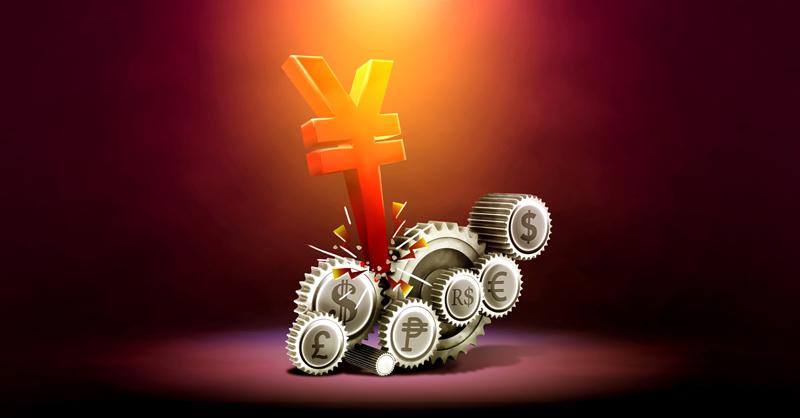 China depreció el yuan a su nivel más bajo desde 2008