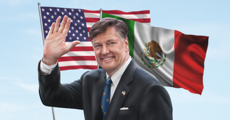 Christopher Landau llegó a ocupar la sede diplomática de México