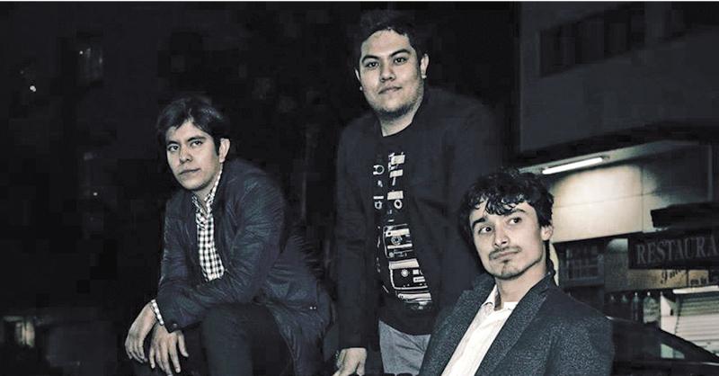 La banda Ciudad Ficción promociona su sencillo Héroes