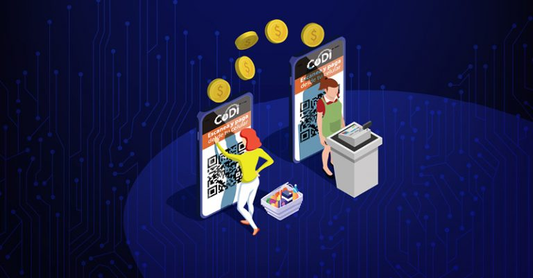 El Banco de México (Banxico) desarrolló la plataforma CoDi