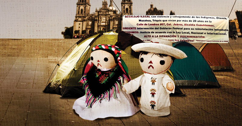 La Fiesta de las Culturas Indígenas en el Zócalo no refleja la realidad de los pueblos