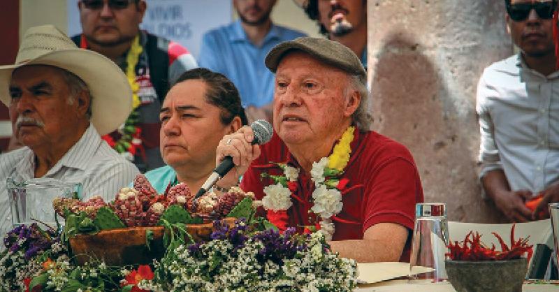 Habitantes de Temacapulín se oponen a la construcción de la presa El Zapotillo