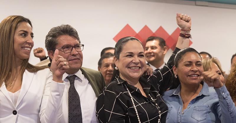 La senadora Mónica Fernández descartó que se lleve a cabo una nueva elección