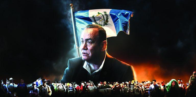 Alejandro Giammattei tiene que enfrentar los problemas de Guatemala
