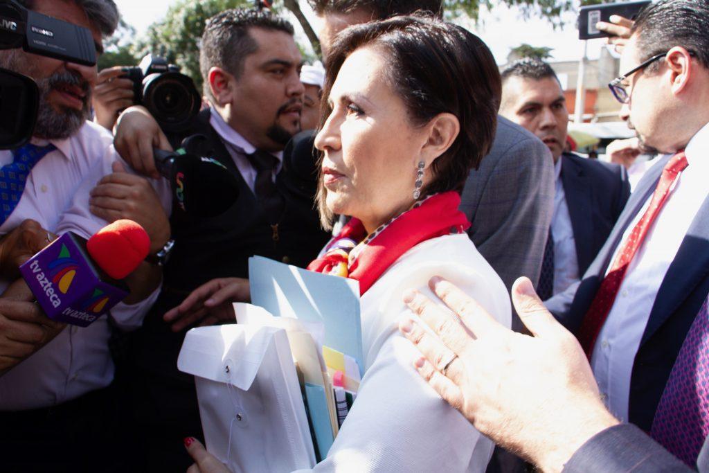 Rosario Robles, magistrado determinará si pasa su proceso en libertad