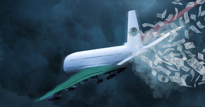 Algunas aerolíneas mexicanas se enfrentan a diversos problemas financieros