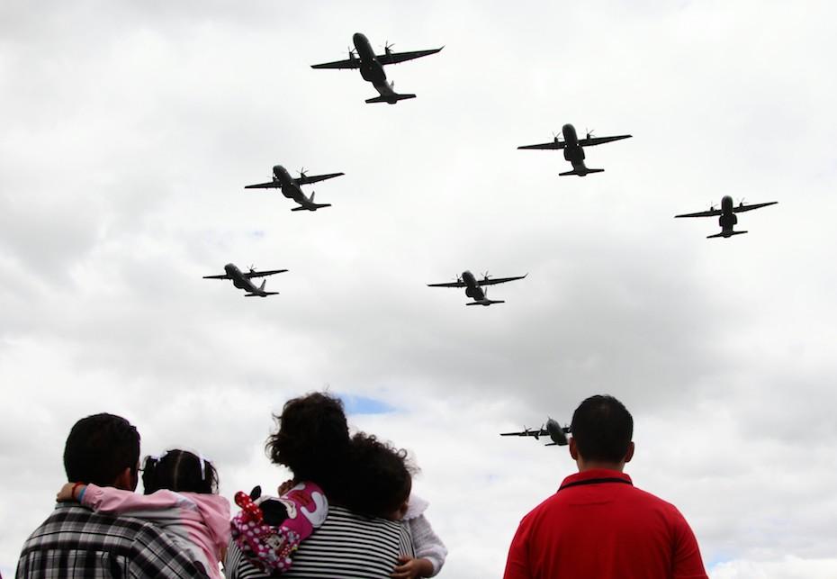 Aeropuerto de la Ciudad de México suspenderá operaciones por desfile militar