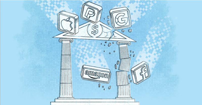 El éxito de las bigtech para manejar dinero ha puesto en jaque a diversos bancos en todo el mundo