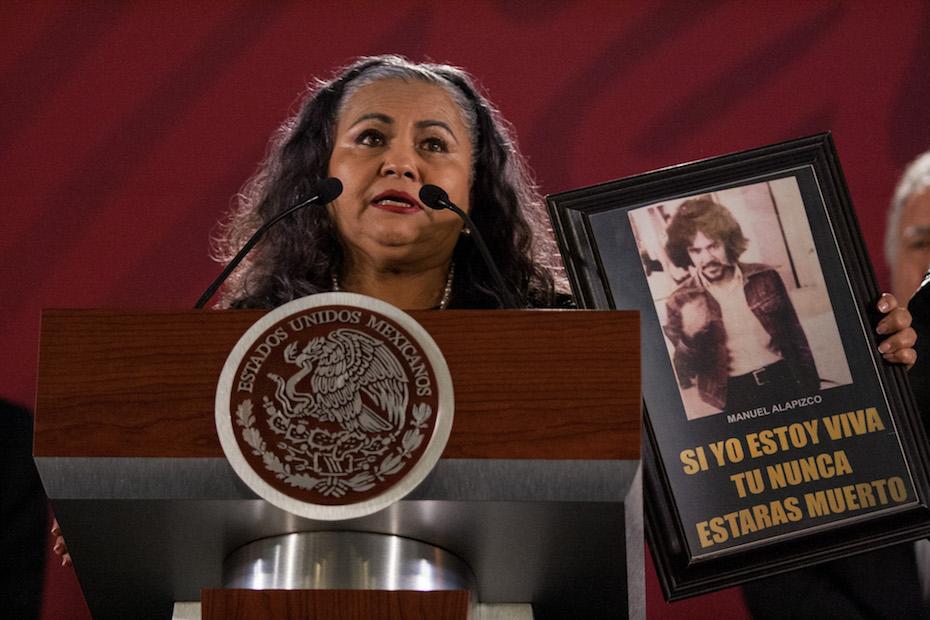 Estado ofrece disculpas a Martha Camacho