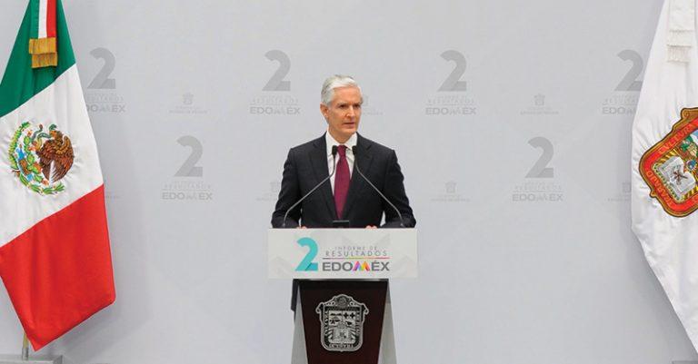 Alfredo del Mazo informó que 683 mil mexiquenses dejaron atrás la pobreza