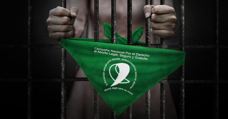 Mujeres están sentenciadas a prisión por abortar