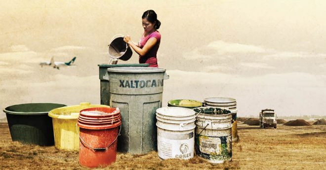 Santa Lucía prometía progreso para habitantes de Xaltocan