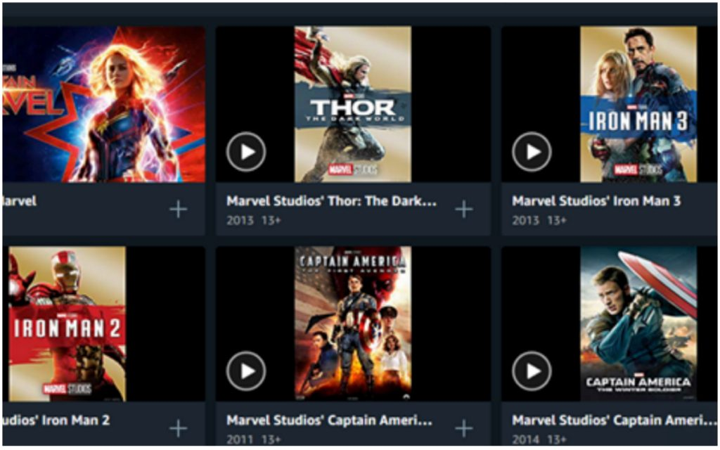Amazon películas