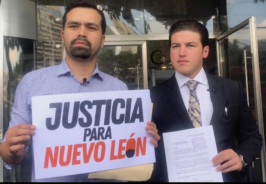 Samuel García protesta por dron de El Bronco
