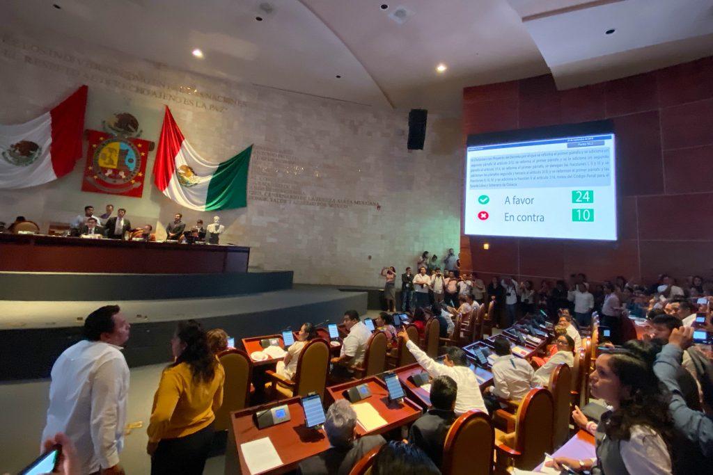 Publican despenalización del aborto en Periódico Oficial del Oaxaca