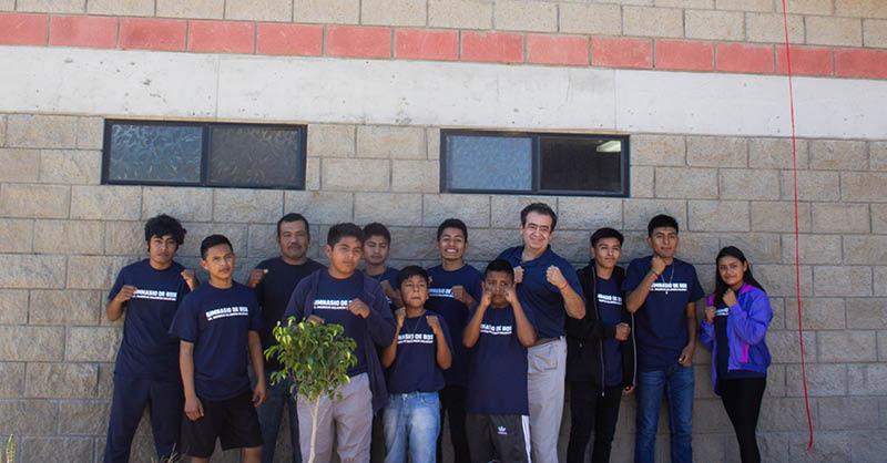 """El CMB inauguró el Gimnasio de boxeo """"Mauricio Sulaimán Saldívar"""" en San Quintin, Baja California"""