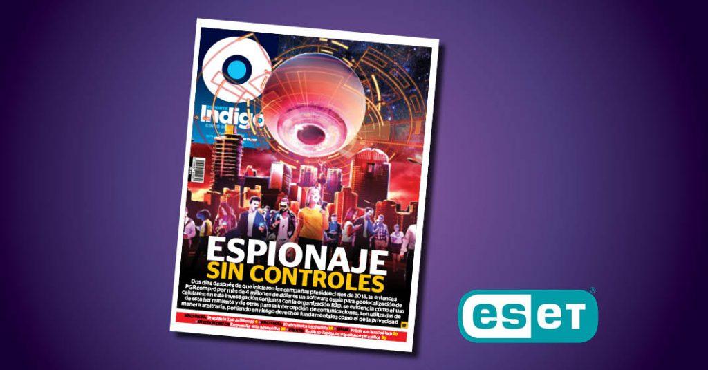 Espionaje sin controles, ue una de las ganadoras del Premio ESET al Periodismo