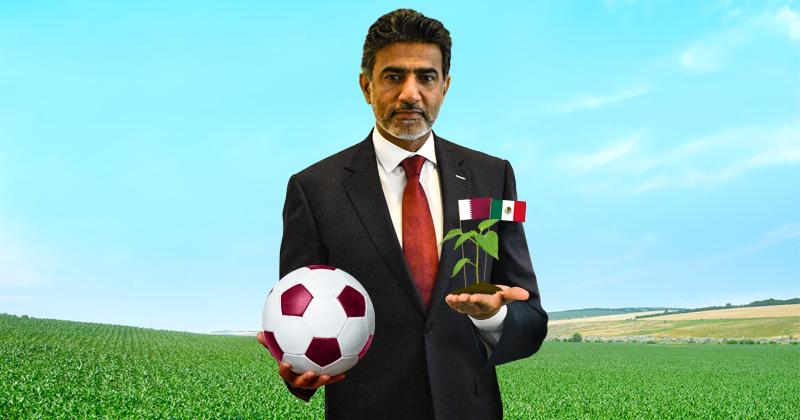 El embajador Mohammed Jassim M. A. Alkuwari sabe que México es un terreno en el que Qatar aún tiene mucho por explorar