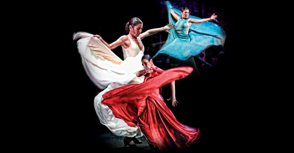 La bailarina de flamenco Sara Baras presentó en el Cervantino su espectáculo Sombras
