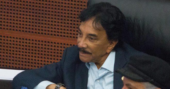 Víctor Flores, líder del Sindicato de Trabajadores Ferrocarrileros.