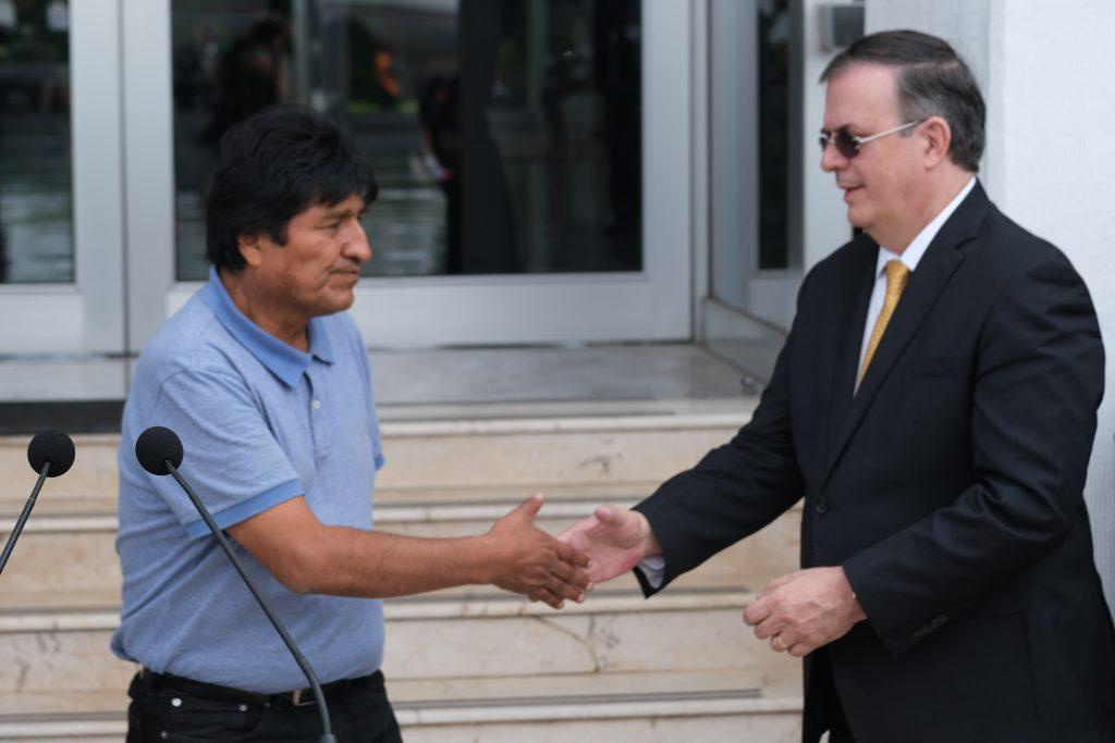 Gobierno de Bolivia se inconforma ante la con México por violar principios de asilo
