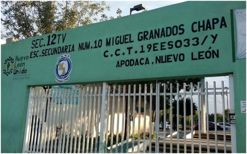 Estudiante expulsado de secundaria en Apodaca